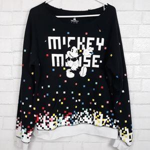 Disney Mickey Mouse 80's Flashback Sweatshirt A22